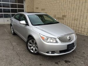 2011 Buick LaCrosse CXS**HT AND COOL SEATS**LTHR**SUNROOF**