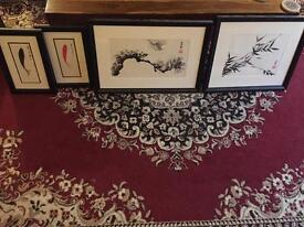 Four works of Chinese art