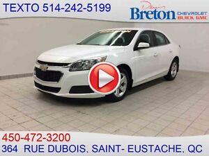 2014 CHEVROLET MALIBU LS BLUETOOTH AIR CLIMATISÉ