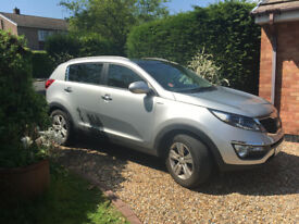 Kia Sportage RX-2CRDI 1995cc 2013 Diesel Car. Excellent condition full service history