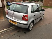 2005 VW Polo 1.2 Twist 5door Hatchback. LOW MILEAGE LONG MOT
