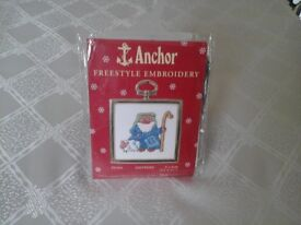 Anchor Freestyle Embroidery Kit of a Shepherd