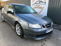 SAAB 9-3 2.0 T AERO PETROL LEATHER 12 MONTHS MOT