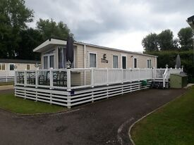 Static Holiday Home for sale 2014 Regal Kensington 38 x 13 2 bedroom Weymouth Waterside park