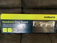 dog guard headrest *new unopened*