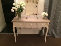 Country dressing table and mirror - Baytree interiors