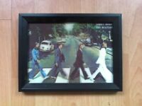 Abbey Road The Beatles Framed 3D Picture