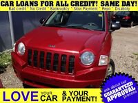 2008 Jeep Compass Sport/North * CAR LOANS THAT SUIT YOUR BUDGET