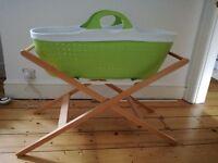 Moba Moses Basket and stand (cot/crib)