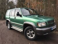 Isuzu Trooper Duty 5dr 3.0D automatic auto turbo diesel 4x4 recent MOT