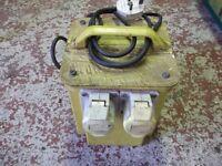 110v transformer 2 out lets