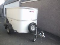 Brand new ifor williams bv64 box van trailer only 6 months old