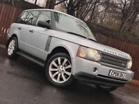 **LOW MILEAGE** LAND ROVER RANGE ROVER 3.0 DIESEL VOGUE FULL SERVICE HISTORY 12 MONTH MOT