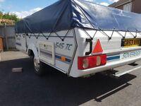 2002 Pennine Sovereign folding camper- rare sought after model including toilet