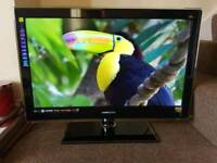 """Hannspree 32"""" 3D Led Full HD, ULTRA THIN, Freeview HD, SENSOR BUTTONS, Delivery"""