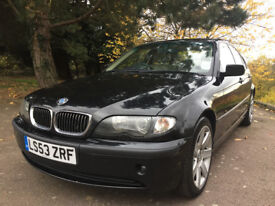 BMW 325i/53 Plate/Automatic/Petrol/Leather