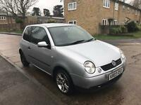 VOLKSWAGEN LUPO E 2003 3 DOOR 1.0 LONG MOT DRIVES GOOD SILVER