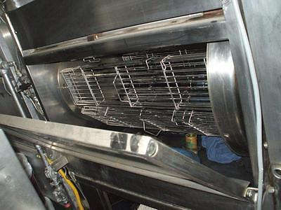 CHICKEN ROTISSERIE, GAS, ALL ST/STEEL  ON LEGS, DIGI CONTROL 900 ITEMS ON E -