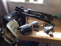 Video camera Recorder and Tripod