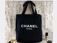 LOVELY CHANEL CANVAS tote bag