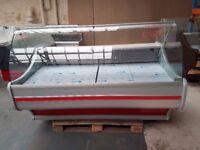 NEW £1408 + VAT 180cm (5.9 feet) Serve Over Counter Display Fridge WEGA N2404
