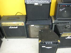 Huge Selection of amps for guitar and bass