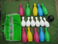 Indoor/Garden/Beach Bowling Set With Carry Bag for £10.00