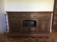 Oak Sideboard - arts & crafts style