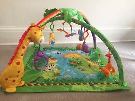 Fisher Price rainforest melody and lights deluxe gym