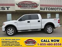 2008 Ford F-150 FX4 4X4 OFF ROAD PKG MODIFIED DUAL EXHAUST, LEAT