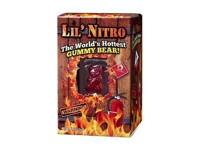 Lil Nitro The World's Hottest Gummy Bear 3g