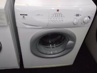 HOOVER 7.5KG USED WASHING MACHINE+FREE BH ONLY POSTCODES DELIVERY,INSTALL & 3 MONTHS GUARANTEE