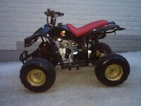 Quad 110cc , 4 stroke loncin engine automatic with electric start. Lots of new parts fitted !!