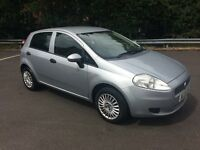 FIAT GRANDE PUNTO 1.4 cc 5 DOOR HATCH..LOW MILES with new MOT..very very NICE ! !