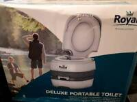 Portable camping toilet Brand New in box BOLTON