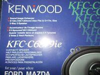 Kenwood Car Speakers x 2
