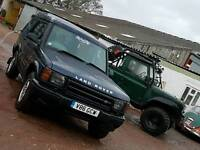 Landrover discovery td5 auto