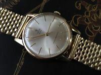Vintage vintage 9k 9ct solid gold Tudor ROLEX with 9ct gold bracelet (serviced) REDUCED!!!!!