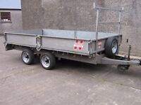 Hudson Dropside Trailer/Ifor Williams.