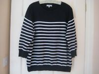 STRIPED SWEATER - SIZE 20 - RED HERRING