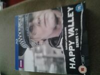 HAPPY VALLEY BLU RAY DVD COLLECTION BOXSET FOR SALE.