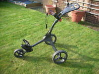 GOLF TROLLEY. SMALL LIGHTWEIGHT PERFECT FOR A SMALL CAR.
