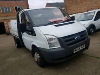 2006 56 Ford Transit Flat Bed - 12 Month MOT - 3 Month Warranty - No VAT