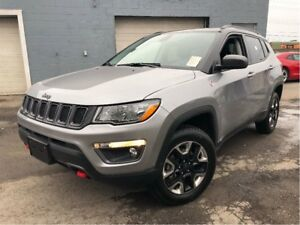 2017 Jeep Compass Trailhawk 4WD LEATHER NAV PANORAMA ROOF