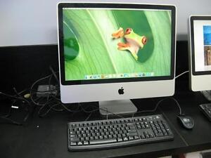 "Apple IMac 24"" A1225 2.8GHZ / 500GB / El Capitan - Warranty!"