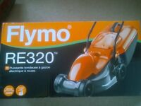 Flymo RE320 Grasscutter, Lawnmower, compact rotary wheeled - BRAND NEW IN SEALED BOX -