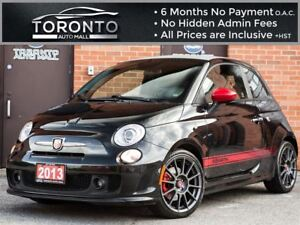 2013 Fiat 500 Abarth Abarth+Beats By Dre+Bluetooth+Leather+Turbo
