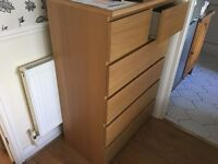 2x chests of drawers IKEA - both in very good condition // can deliver