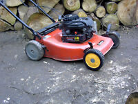 Sovereign SV64D self propelled mower plus Sachs Dolmar 102 chainsaw