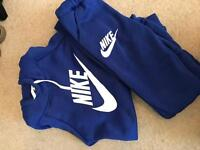 Blue Nike tracksuit